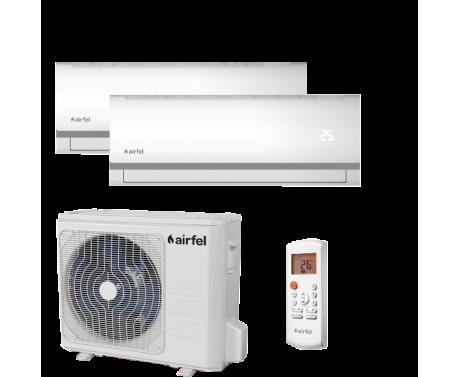 Klimatizácia Airfel DUAL Split 2,5kW+3,3kW