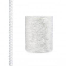 Sklokeramická šnúra  biela 4mm