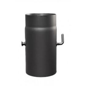 Dymovodná rúra s klapkou 150/250